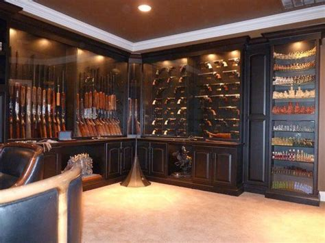 shop for kitchen cabinets custom made built in gun display cabinets integrated into 5194