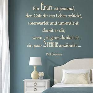 Spruch Zur Hauseinweihung : ein engel ist jemand wandtattoo ~ Lizthompson.info Haus und Dekorationen
