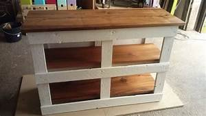 pallet kitchen furniture meuble de cuisine en palette With meuble en palette