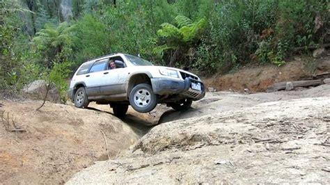 subaru forester  road bunyip rock climb part