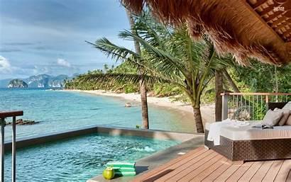 Island Resort Palawan Philippines Fiji Beach Wallpapers