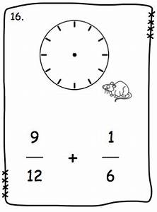 love2learn2day fraction addition made easy clocks With 24 second shot clock mk 2