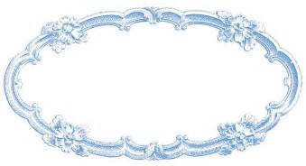 vintage clip delicate oval frame the graphics