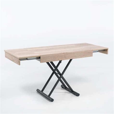 table hauteur réglable table r 233 glable en hauteur et extensible en m 233 lamin 233 compact 4 pieds