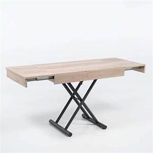 Pieds Réglables En Hauteur : table r glable en hauteur et extensible en m lamin ~ Dailycaller-alerts.com Idées de Décoration
