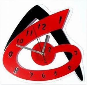 Horloge Murale Rouge : horloge moderne murale design rouge recherche google horloges pinterest recherche ~ Teatrodelosmanantiales.com Idées de Décoration