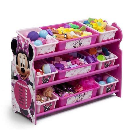 jeux de rangement de chambre de fille minnie meuble de rangement enfant 9 bacs plastique achat