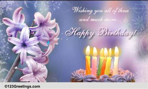 wishing    happy birthday  extended family ecards