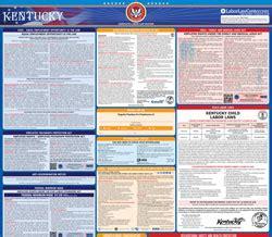 printable  kentucky labor law posters