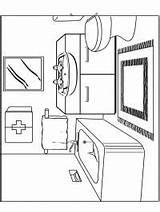 Bunk Bed Coloring 1001coloring Bathroom sketch template