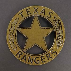 TEXAS RANGERS Sheriff the Lone Ranger Metal BADGE Costume