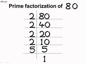 Math - Example of LCM By Prime Factorization - English ...