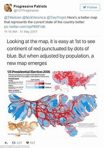 Trump 'to hang map showing 2016 results in White House ...