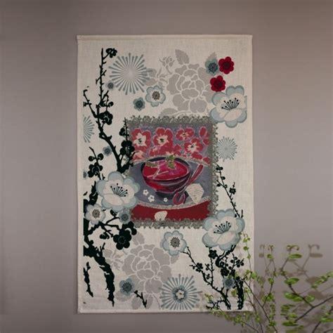 chinoi cuisine tapisserie tenture ou panneau japonais au motif