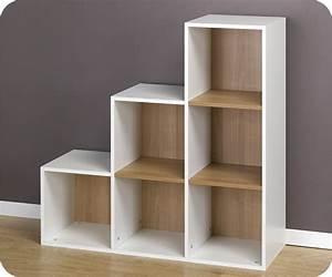 Cube De Rangement : etageres en escalier maison design ~ Teatrodelosmanantiales.com Idées de Décoration