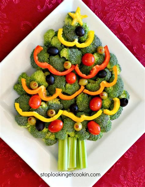 turkey tree wreath vegetable trays with yum food and