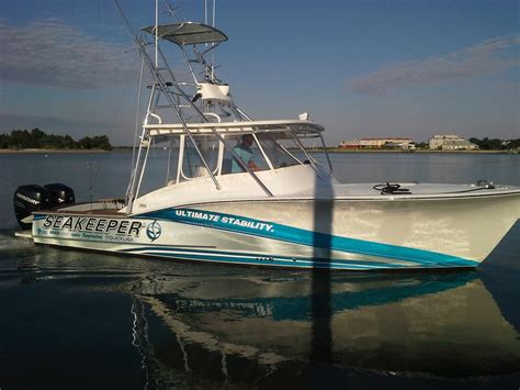 Huk Boat by Seakeeper Signs As Exclusive Gyro Stabilization Sponsor