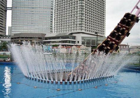 An Underwater Roller Coaster In Yokohama, Japan