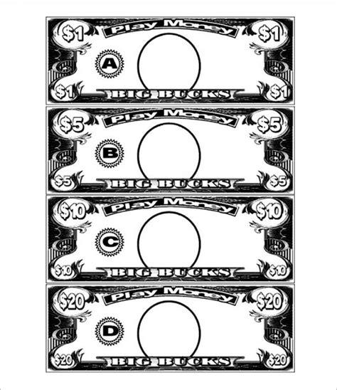 Play Money Template Play Money Template Casino Play Money Money