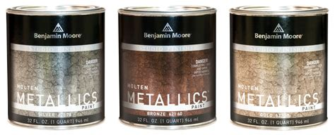 a metal like paint from benjamin the new york times