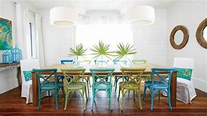 50 ways to decorate with turquoise coastal living for Kitchen cabinets lowes with sea themed wall art