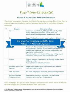 tax documents checklist simple paper and filing system With documents taxes checklist