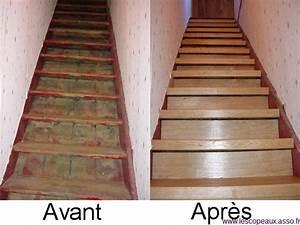 Renovation D Escalier En Bois : recouvrir escalier en bois ~ Premium-room.com Idées de Décoration