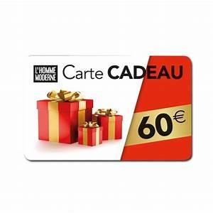 Cadeau 5 Euros : carte cadeau 60 euros acheter id es cadeaux homme l 39 homme moderne ~ Teatrodelosmanantiales.com Idées de Décoration
