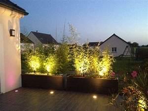 17 meilleures images a propos de amenagement exterieur sur With nice eclairage exterieur maison contemporaine 17 decoration jardiniere balcon