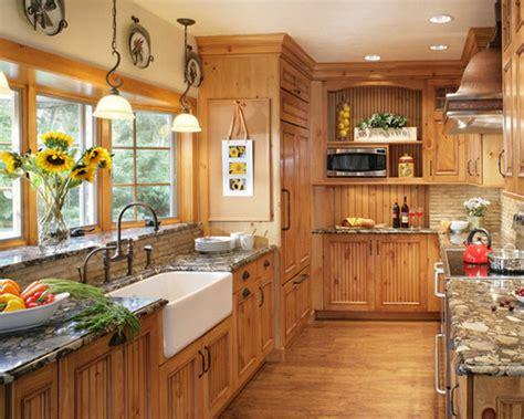knotty pine cabinets houzz