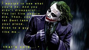 Joker quote from the Dark Knight | Best Quotes