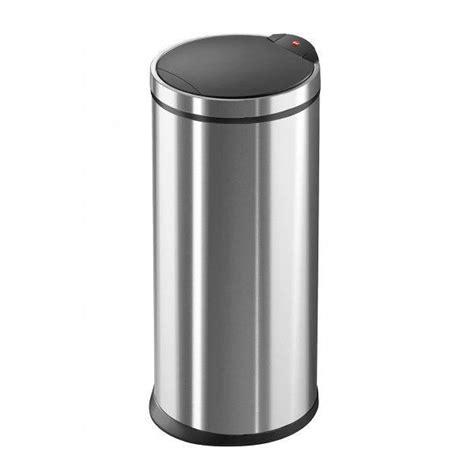 poubelle cuisine design poubelle de cuisine touchbin 20 l inox achat vente