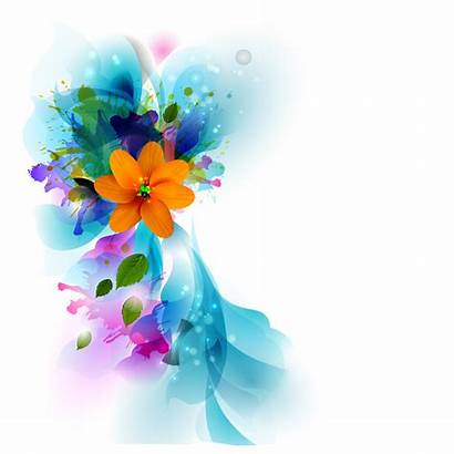 Flower Colorful Flowers Flora Floral Backgrounds Encapsulated