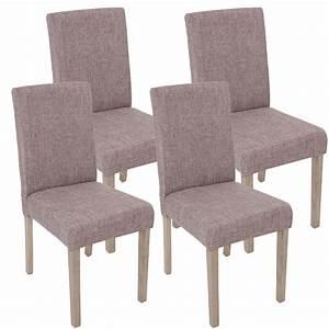 Stuhl Skandinavisch Grau : 4x esszimmerstuhl littau stuhl lehnstuhl textil grau ~ Whattoseeinmadrid.com Haus und Dekorationen