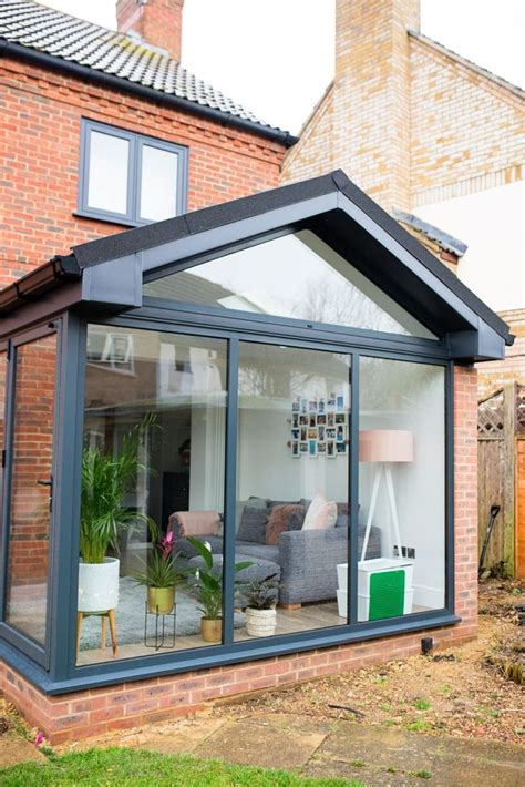 modern conservatory extension    home