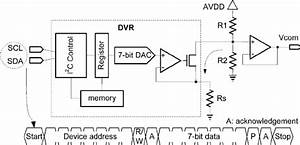 Schematic Circuit Diagram Of Dvr  Scl And Sda Are Serial