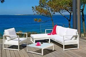 Salon de jardin design en fer haut de gamme Meuble et décoration Marseille mobilier design