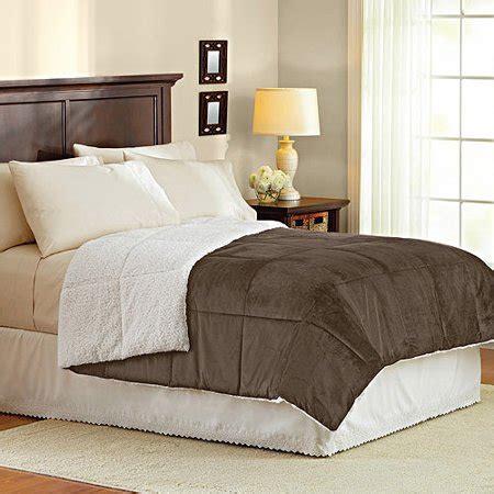 better homes comforter better homes gardens bhg mink to sherpa comforter