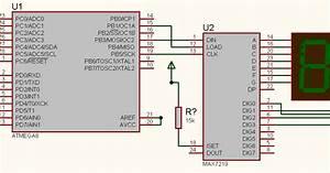 Max7219 7 Seg Led Interfacing With Avr Atmega 8  16  32  328