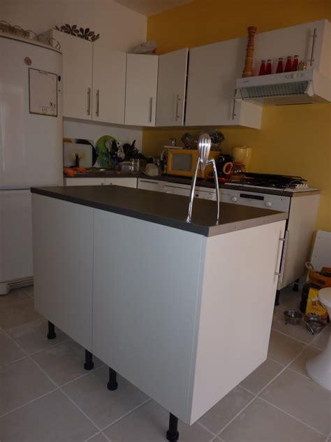 ilot pour cuisine pas cher meuble ilot central pas cher cuisine en image
