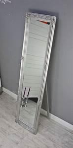 Großer Wandspiegel Silber : standspiegel silber antik gro 180cm holz wandspiegel barock badspiegel landhaus ebay ~ Markanthonyermac.com Haus und Dekorationen