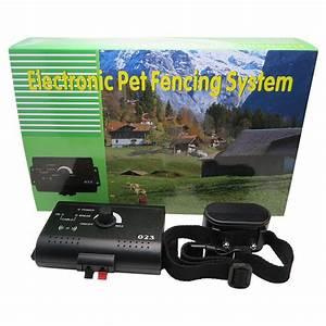 electronic pet fence training system woofingdog With electronic dog fence system