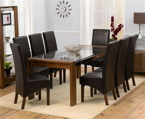 rochelle walnut glass dining table oak furniture solutions