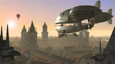 steampunk  airships  short films cora foerstner