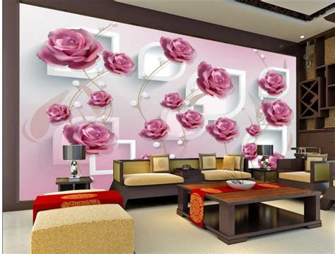 home decoration  hand painted  dimensional rose