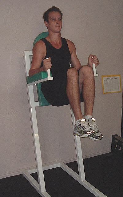 captains chair exercise alternative how to do the captain s chair hanging leg raise