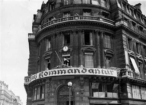 les hotels de siege 1940 1944 le quotidien des parisiens sous l 39 occupation
