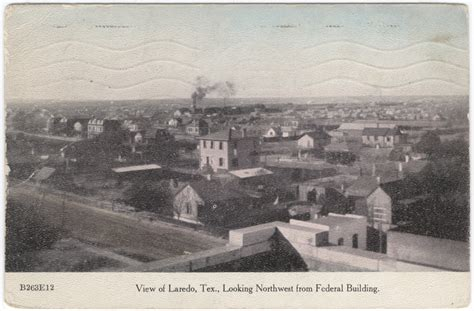 9902 mcpherson rd 6, laredo, tx 78045; View of Laredo, Texas in the early 1900 - The Portal to Texas History