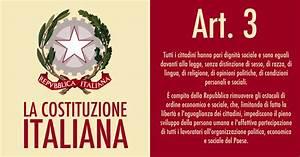 Sull'articolo 3 della Costituzione italiana