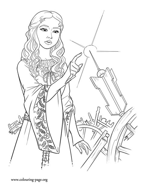 maleficent coloring pages    print